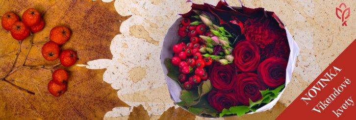 9a46daf8cccf Kvety na víkend aj na predvianočné obdobie