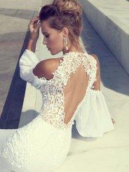 293bcd604f3b Trendy svadobých šiat na rok 2014. Oslavy a podujatia Svadba 2015